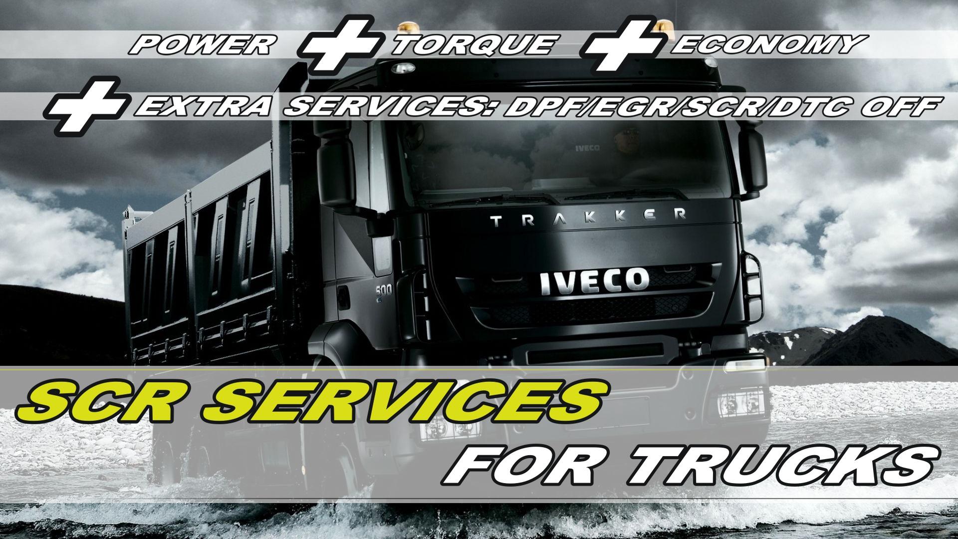VP T Engineering - SCR/ADBLUE REMOVAL on trucks - VP T